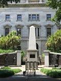 Das Afroamerikaner-Geschichts-Monument aufgrund Süd-Carolina State Houses Stockfotos