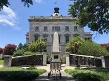 Das Afroamerikaner-Geschichts-Monument aufgrund Süd-Carolina State Houses Lizenzfreies Stockfoto