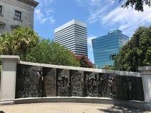 Das Afroamerikaner-Geschichts-Monument aufgrund Süd-Carolina State Houses Stockbilder