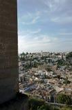 Das Albaicin, der arabische Bezirk von Granada Stockbild