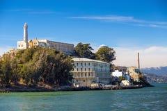 Das Alcatraz-Insel-Gefängnis Lizenzfreies Stockbild