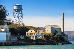 Das Alcatraz-Insel-Gefängnis Stockbild