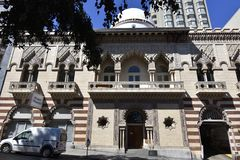 Das Alcazar-Theater San Francisco, 1 lizenzfreie stockbilder