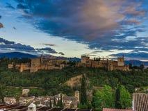 Das Alhambra (4) Lizenzfreie Stockfotos