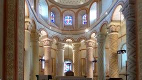 Das Altarteil der Römisch-katholischen Kirche Stockfotos