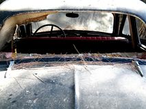 Das alte Auto Stockbild