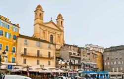 Das alte Bastia Stockfotografie