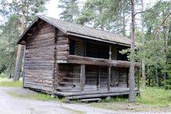 Das alte Blockhaus Lizenzfreies Stockfoto