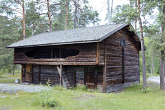 Das alte Blockhaus Stockfoto