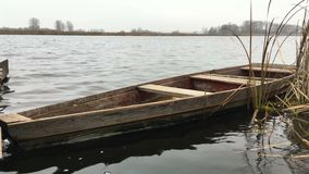 Das alte Boot stock footage