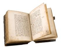 Das alte Buch stockfotos