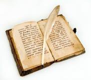 Das alte Buch lizenzfreie stockfotos