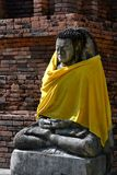 Das alte Buddha-Bild Lizenzfreie Stockfotografie
