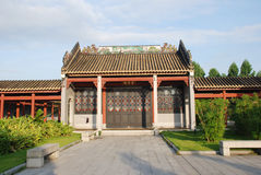 Das alte chinesische Gartenhaus Lizenzfreie Stockfotografie