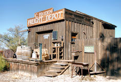 Das alte Depot Stockfotografie