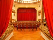 Das alte ehrwürdige Theater 'Circo de Marte stockfotografie
