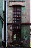 Das alte Fenster von a Lizenzfreies Stockbild