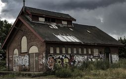Das alte Gebäude Stockfotos