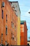 Das alte Gebäude Stockbild