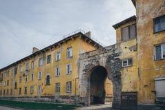 Das alte Gebäude Stockbilder