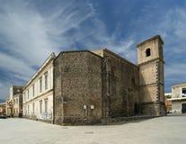 Das alte Gebäude. Acicastello, Sizilien. Italien Lizenzfreies Stockfoto