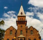 Das alte Hafengebäude in Sydney, Australien lizenzfreies stockbild