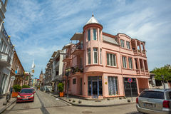 14 05 2017 - Das alte Haus der alten Stadt Batumi, Georgia Lizenzfreie Stockfotos
