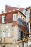 Das alte Haus in Tiflis, Georgia Stockfotografie