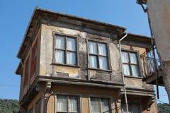 Das alte Haus in Tirilye, Mudanya. stockbilder