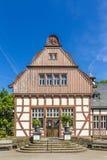 Das alte inhalatorium in schlechtem Nauheim, Deutschland dient als allgemeines Li Stockfotografie
