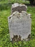 Das alte irische Grab Lizenzfreie Stockbilder