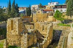 Das alte Jerusalem Lizenzfreies Stockbild