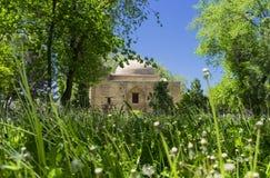Das alte Karahan-Mausoleum, Taraz-Stadt, Kasachstan lizenzfreie stockbilder