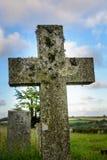 Das alte Kreuz in Cornwall Lizenzfreies Stockfoto