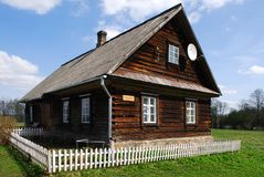 Das alte landwirtschaftliche Haus Lizenzfreie Stockbilder