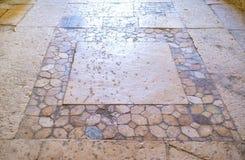 Das alte Mosaik Stockbild