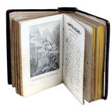 Das alte orthodoxe fromme Buch Stockfotografie