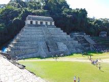 Das alte Palenque in Mexiko lizenzfreie stockbilder