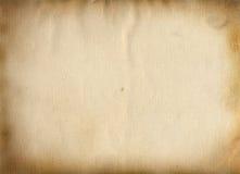Das alte Papier Stockbild