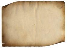 Das alte Papier Lizenzfreie Stockfotos