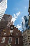 Das alte Parlamentsgebäude Boston Stockbild