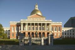 Das alte Parlamentsgebäude für den Commonwealth von Massachusetts, Zustands-Kapitol-Gebäude, Boston, Masse Stockbilder