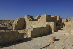 Das alte römische Dorf Avdat Stockfoto