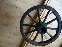 Das alte Rad von Warenkörben Lizenzfreie Stockfotos