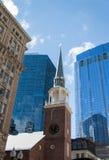 Das alte Südsitzungs-Haus in Boston Stockfoto
