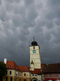 Das alte Sibiu, Rumänien Lizenzfreie Stockbilder