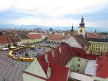 Das alte Sibiu, Rumänien Lizenzfreies Stockfoto
