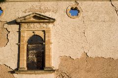 Das alte Sissia Kloster, Kefalonia, September 2006 Lizenzfreies Stockbild
