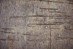 Das alte Sperrholz mit Spuren des Ausschnitts Lizenzfreie Stockfotografie