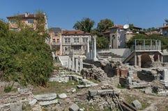Das alte Stadion Philipopolis in Plowdiw, Bulgarien Lizenzfreie Stockfotos
